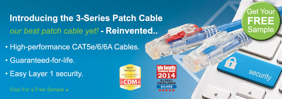3 Series Lockable Patch Cables