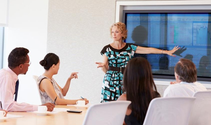 Encourage Collaboration with Modern Huddle Spaces and Conference Rooms