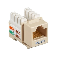 CAT5e UTP RJ-45 Keystone Jack, Black Box Connect